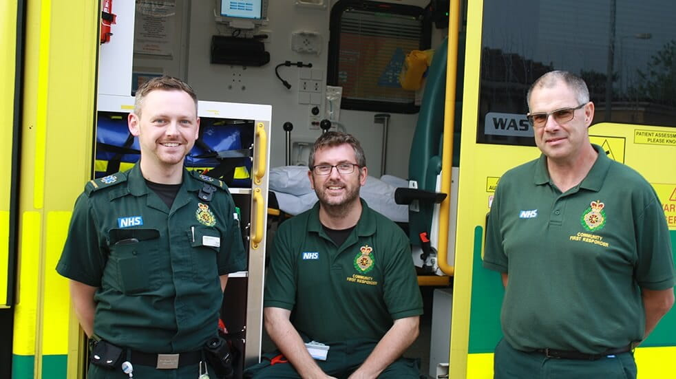 Volunteer for the NHS - ambulance staff