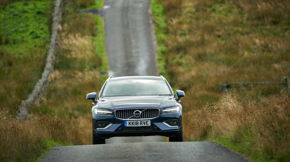 Volvo review: volvo driving front