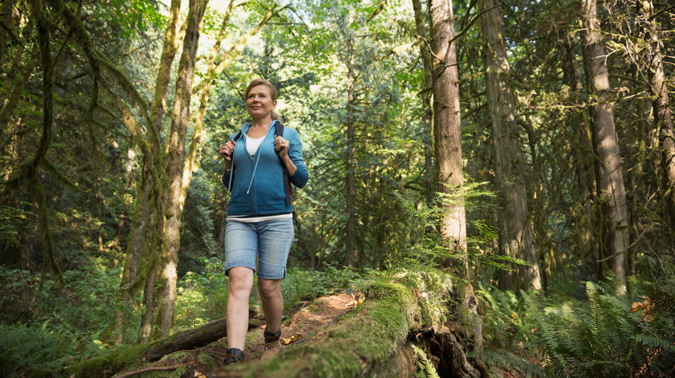 Walking for health: forest walk