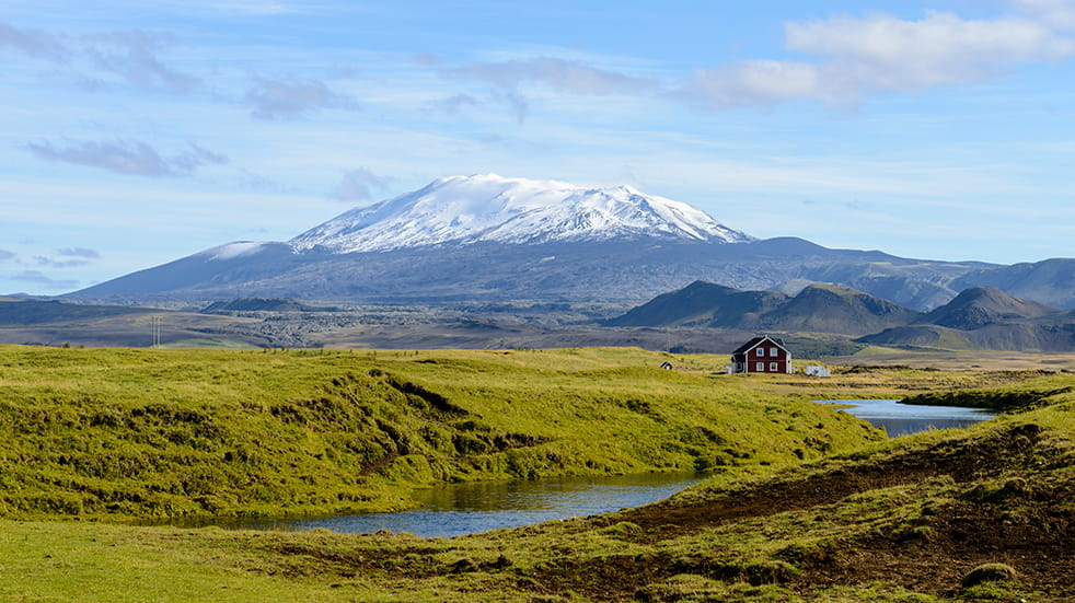 What to see Iceland: Hekla volcano