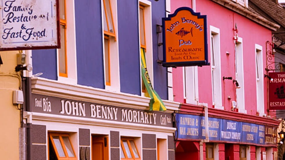 Why an Irish roadtrip should be on your bucket-list colourful houses