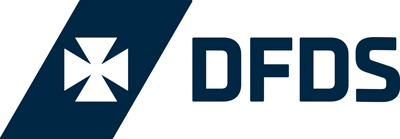 Why choose ferry travel to Europe: DFDS logo