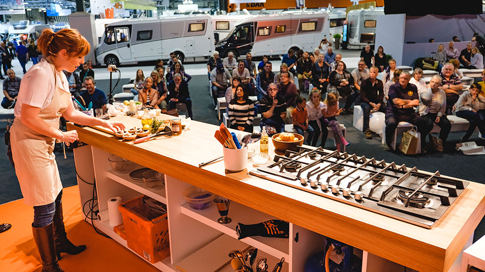 Win tickets to the Motorhome and Caravan Show 2019: see live cooking demonstrations