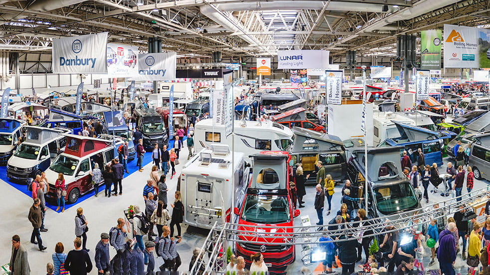 Win tickets to the Motorhome and Caravan Show 2019: discover new models