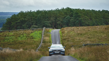 Car driving in Northumberland