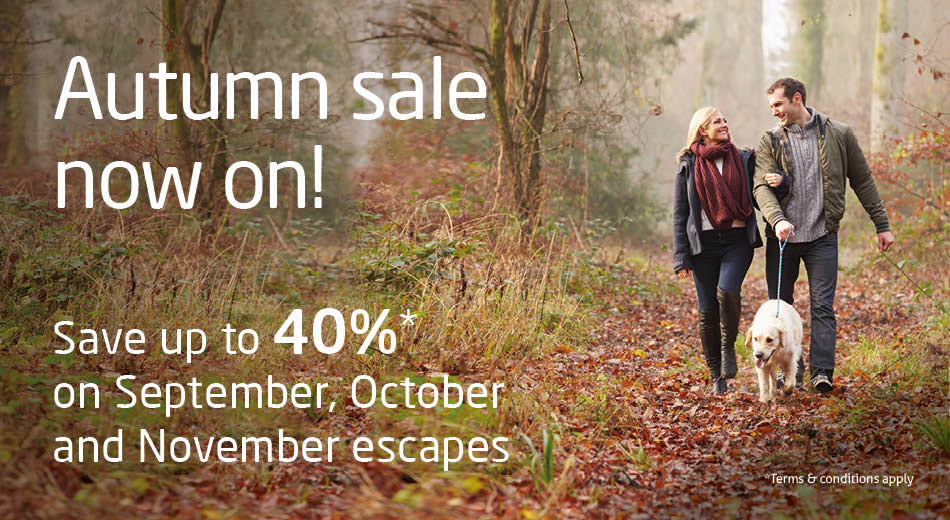 Save up to 30%* on a last-minute break