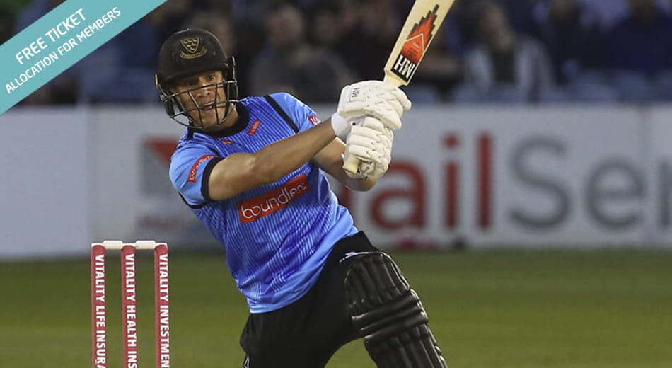 Sussex Sharks T20 cricketer