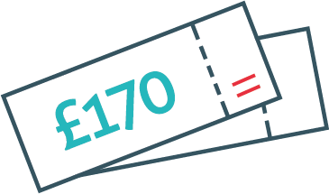 Get over £170 worth of vouchers when you join