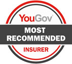 YouGov most recommended insurer