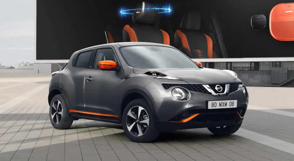 Save up to £7,000 off Nissan Juke before 31st March