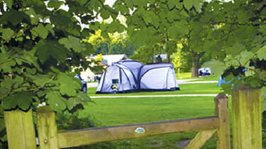 Book a caravan pitch for 3 nights and get the fourth night free