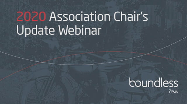 2020 Association Chair's Update Webinar