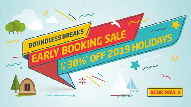 Boundless Breaks early booking sale