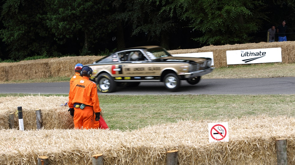 Marshalling at Goodwood