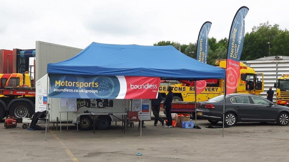 NW Motorsports Marquee