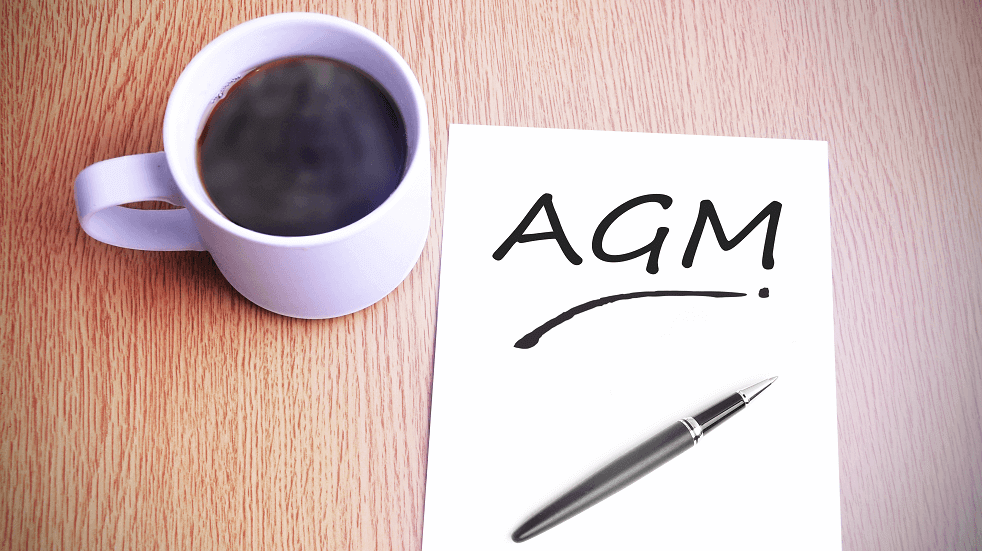 AGM with a cup of coffee