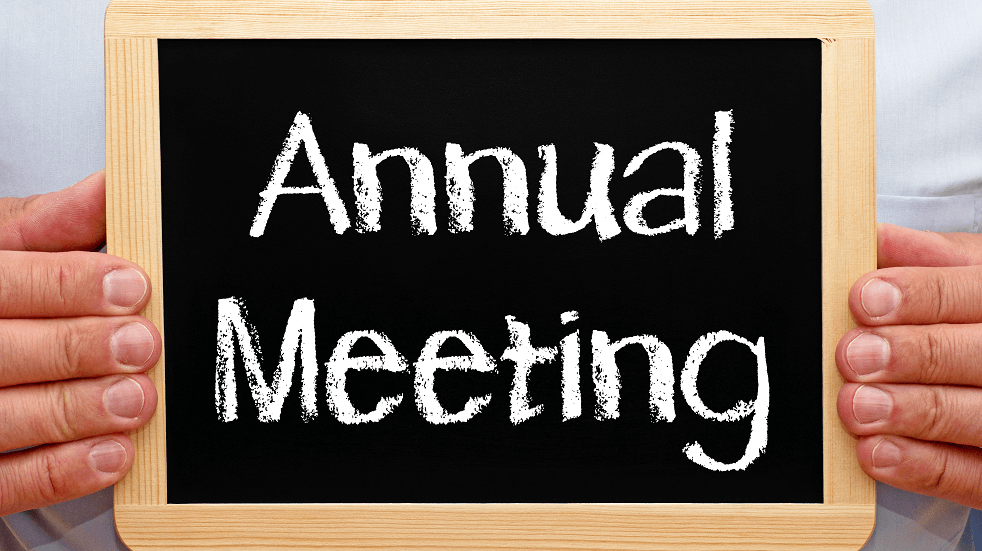 Annual meeting 1