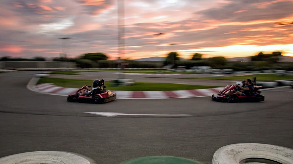 Karting Sunset