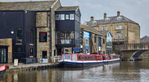 Skipton Boat trip on Leeds and Liverpool Canal