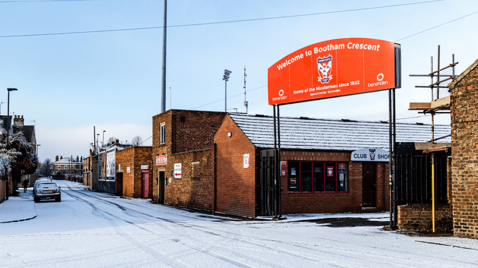 The Journey From Bootham Crescent to Monks Cross Cover Photo