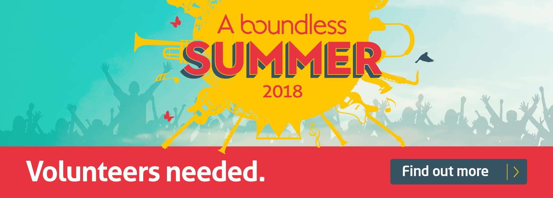 Boundless Summer volunteer