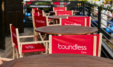 Boundless chairs and tables