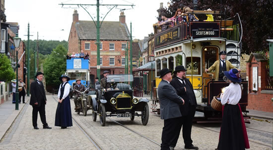 outdoors at Beamish museum