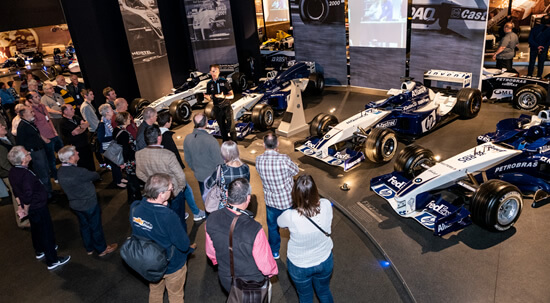 Williams F1 cars