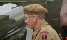 millitary man in beret