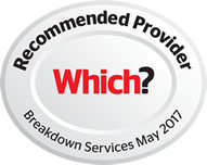 Recommended Provider Which? breakdown Services May 2017