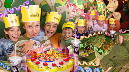 Birthday Parties at Legoland DIscovery