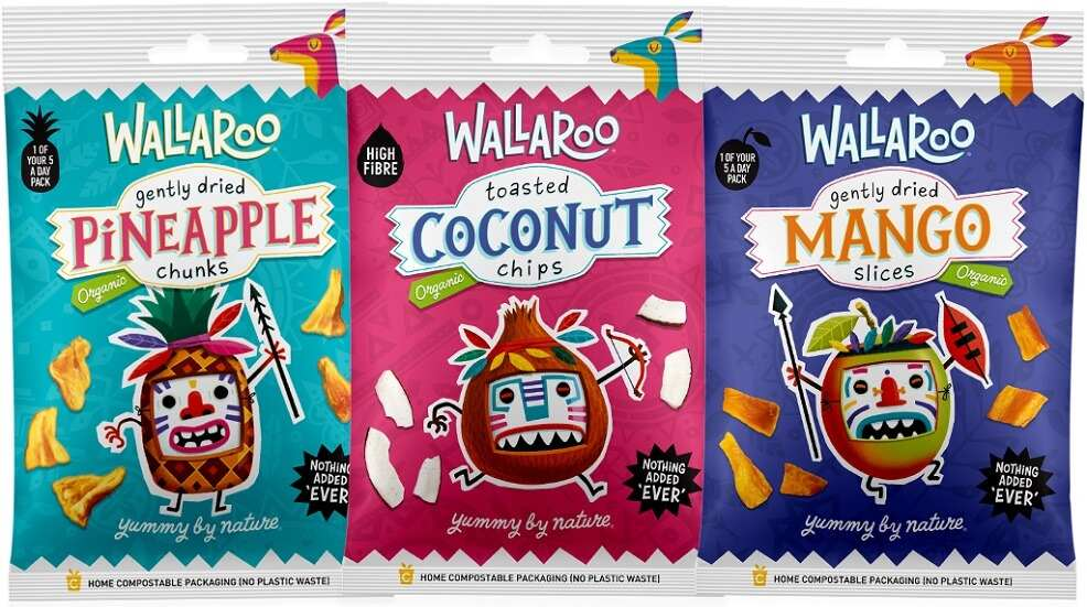 Wallaroo pineapple chunks, coconut chips and dried mango