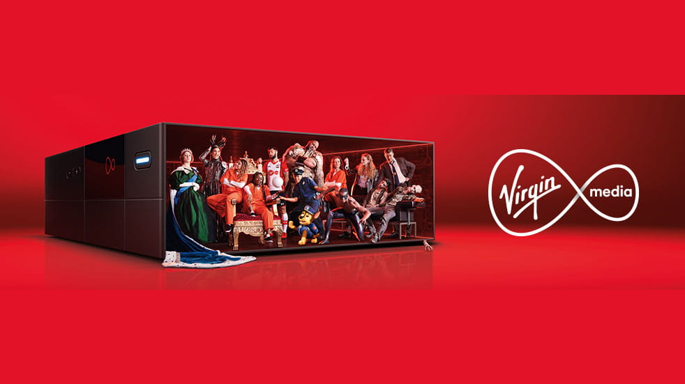 Virgin media graphic