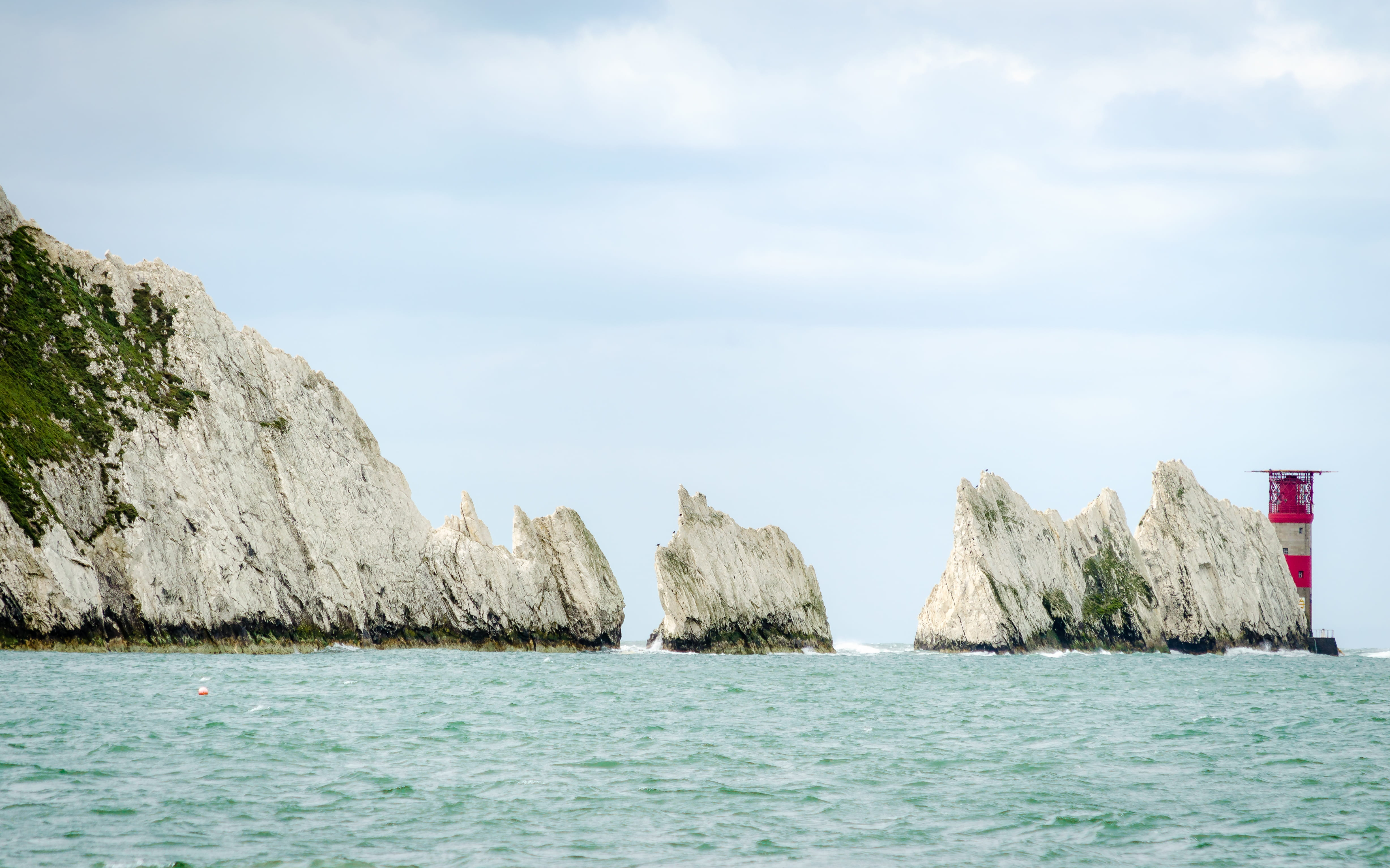 Isle of Wight Needles - Boundless  by CSMA - Wightlink