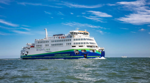 Wightlink Hybrid engine ferry