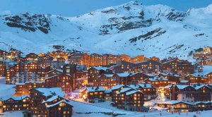 Village in Val Thorens