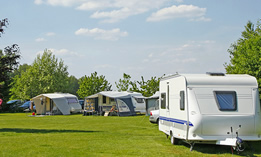 Camping and caravan pitches