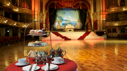 Afternoon tea at The Blackpool Tower Ballroom