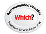 Recommended Provider Which? - Breakdown Services August 2016