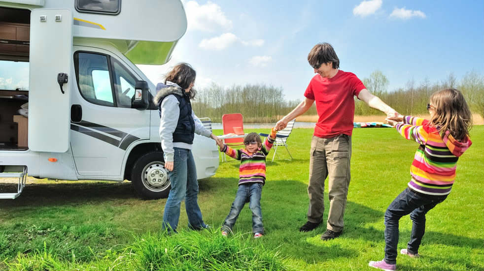 Camping and Caravaning booking form