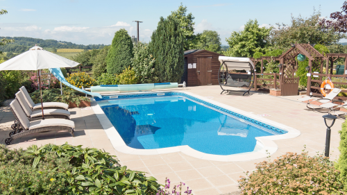 Swimming pools in Devon cottages