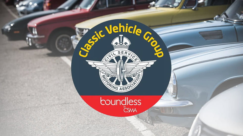 Classic vehicle group banner