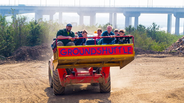 Diggerland - Ground Shuttle