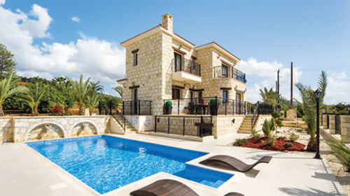 Petrides villa with swimming pool