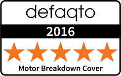 defaqto 2016 Motor Breakdown Cover