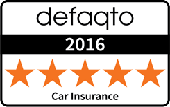 defaqto 2016 5 star car insurance