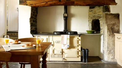 Cottage kitchen interior