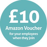 £10 Amazon voucher for your employees when they join