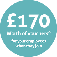 £170 worth of vouchers when you join