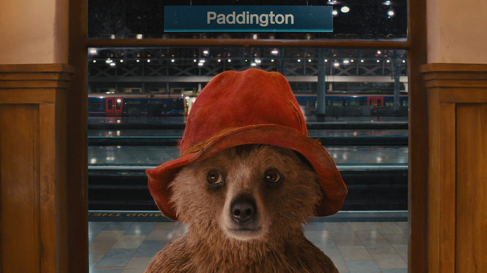 a mysterious bear in Paddington station...
